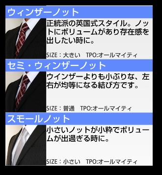 ネクタイの結び方02-2