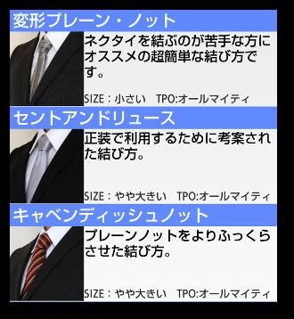 ネクタイの結び方02-3