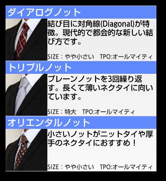 ネクタイの結び方02-4