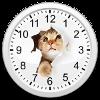 猫アナログ時計・アイコン
